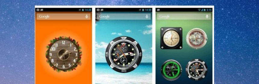 Best clock widgets