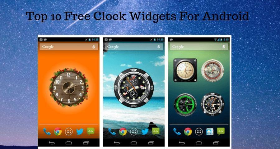 Best clock widgets