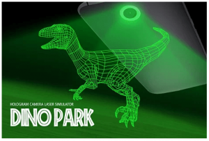 Dino Park Simulator Hologram App