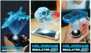 Hologram 3d simulator