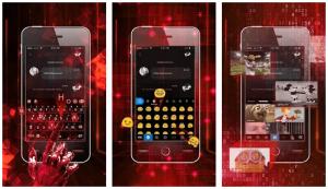 Neon Keyboard Theme Hologram App
