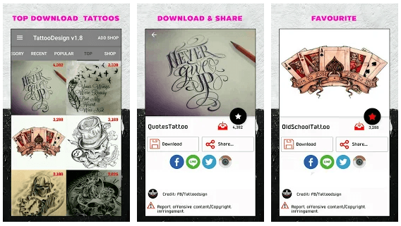 Top 10 Best Tattoo Design Apps For Android Iphone 2020