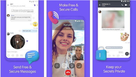 Viber Video chat app