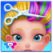 Crazy hair salon