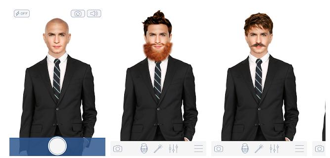 Hair changer men