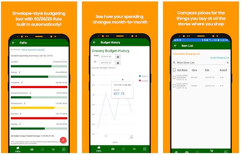 Fitfin Budget App