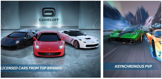 Asphalt Nitro: Android Games without Internet