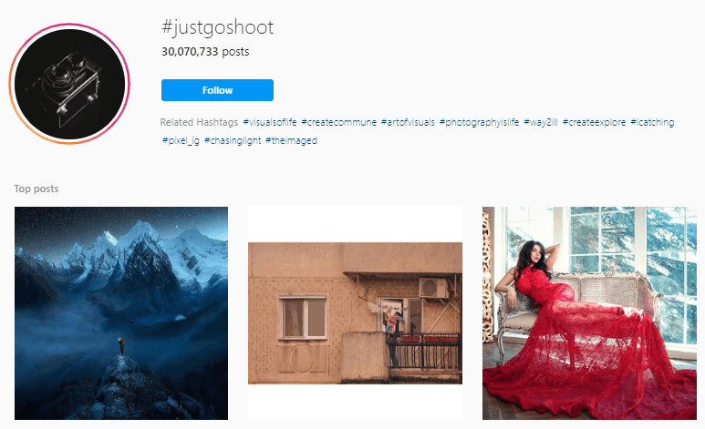 Best Photography Hashtags