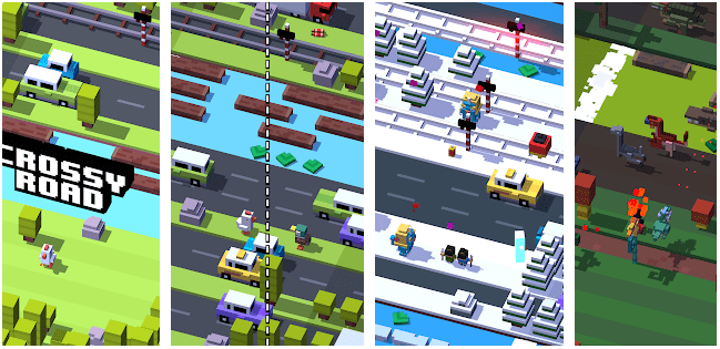 Crossy Road: Best android games without Wifi