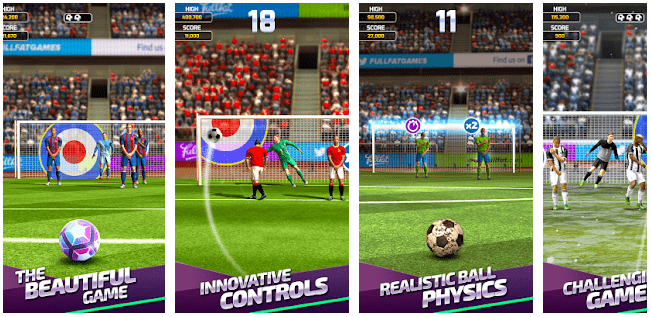 Flick Soccer: Android Games without Internet