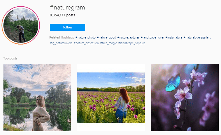 Nature Photography Hashtags