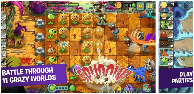 Plants vs Zombies: Android Games without WiFi