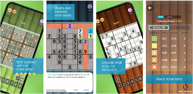 Sudoku: Android Games without Internet