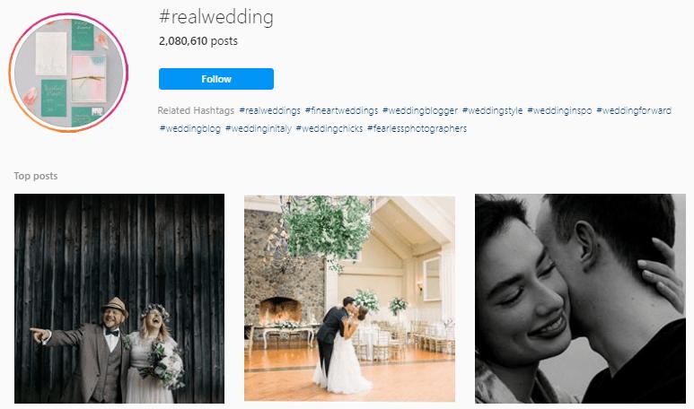 Best Wedding photographer hashtags