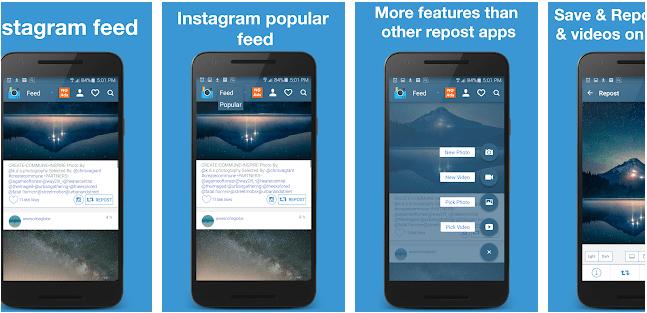 EzRepost+ Repost for Insta: Insta repost app