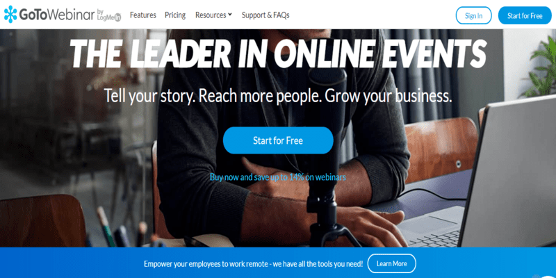 GoToWebinar: Top Webinar Software