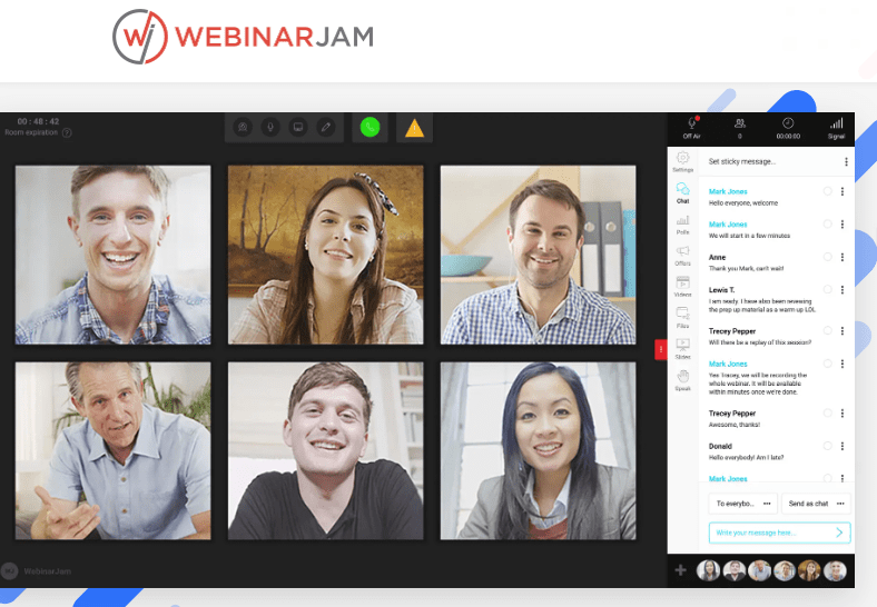 Webinar Jam: Top webinar software