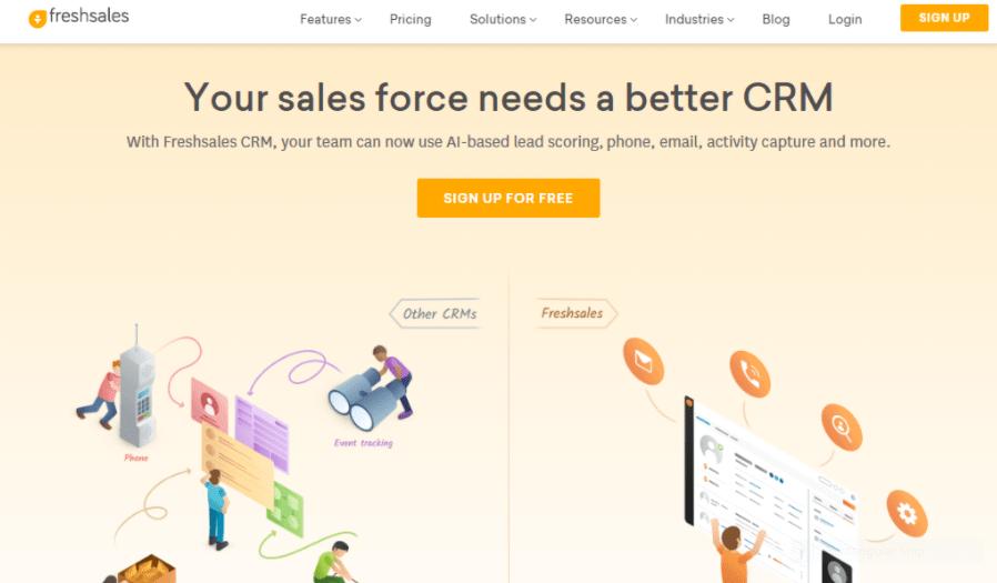 Freshsales: CRM Software