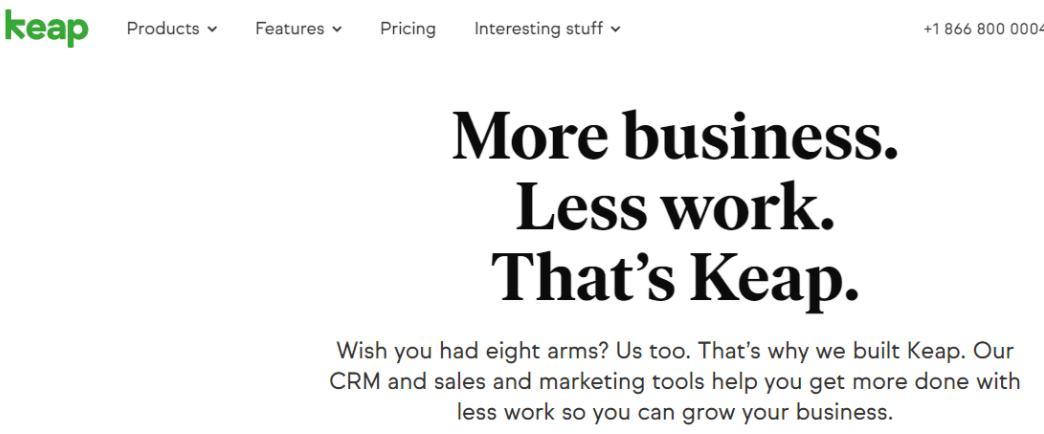 Keap: CRM Software