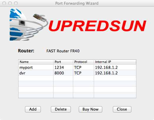 Port Forwarding Wizard for Mac
