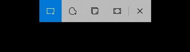 Windows keyPlus Shift plus S