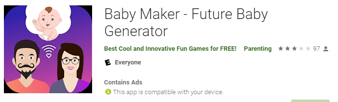 Baby Maker & Face Generator