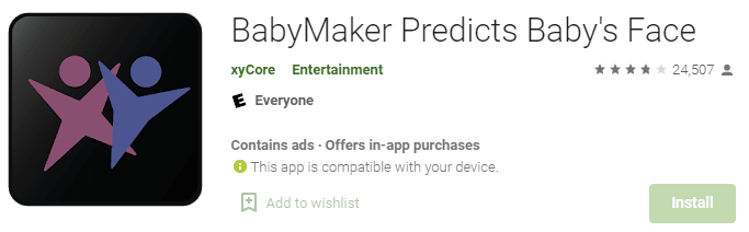 Baby Maker predicts the babyface