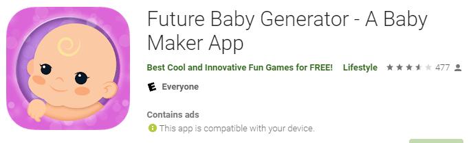 Future Baby Generator
