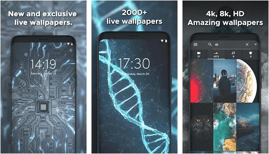 Live Wallpapers, Screen Lock, Ringtones – W.Engine