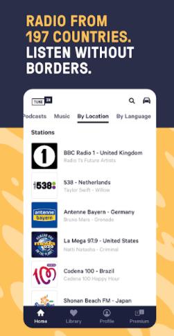 TuneIn: Stream NFL radio, music, sports, and much more