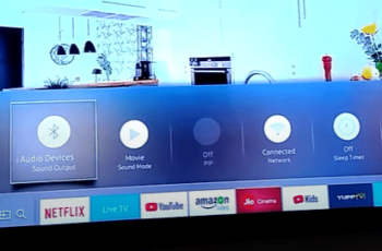 Connect bluetooth with samsung smart tv