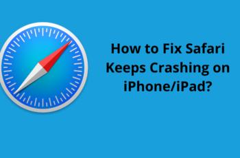 Safari Keeps Crashing on iPhone