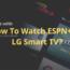ESPN+ on LG TV